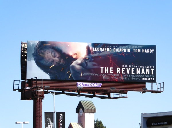 The Revenant film billboard