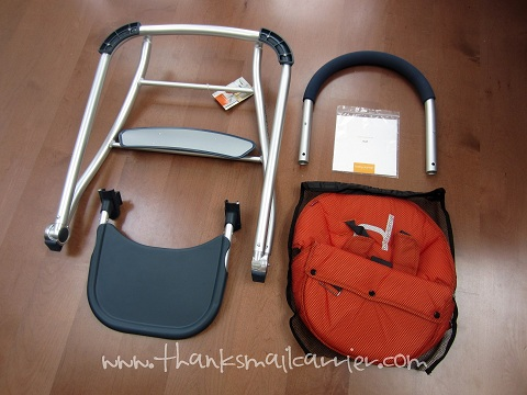 Babyhome high chair assembly