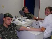 Doação voluntáriaAssim como no ano passado, campanha Bombeiro Sangue Bom . (campanha bombeiro sangue bom foto arquivo)