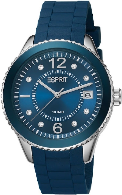 Esprit Women Marin 68 Petrol Blue Watch Price India