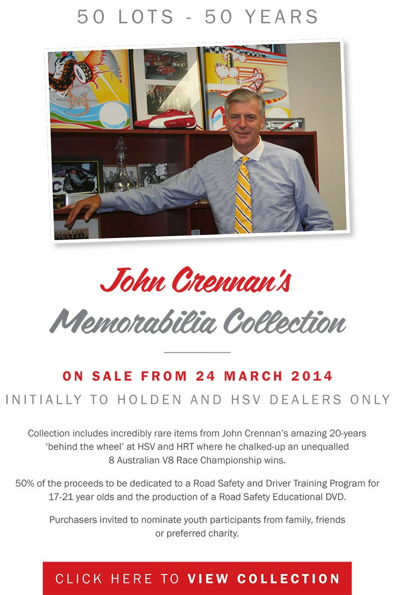 Former HSV supremo to sell collection