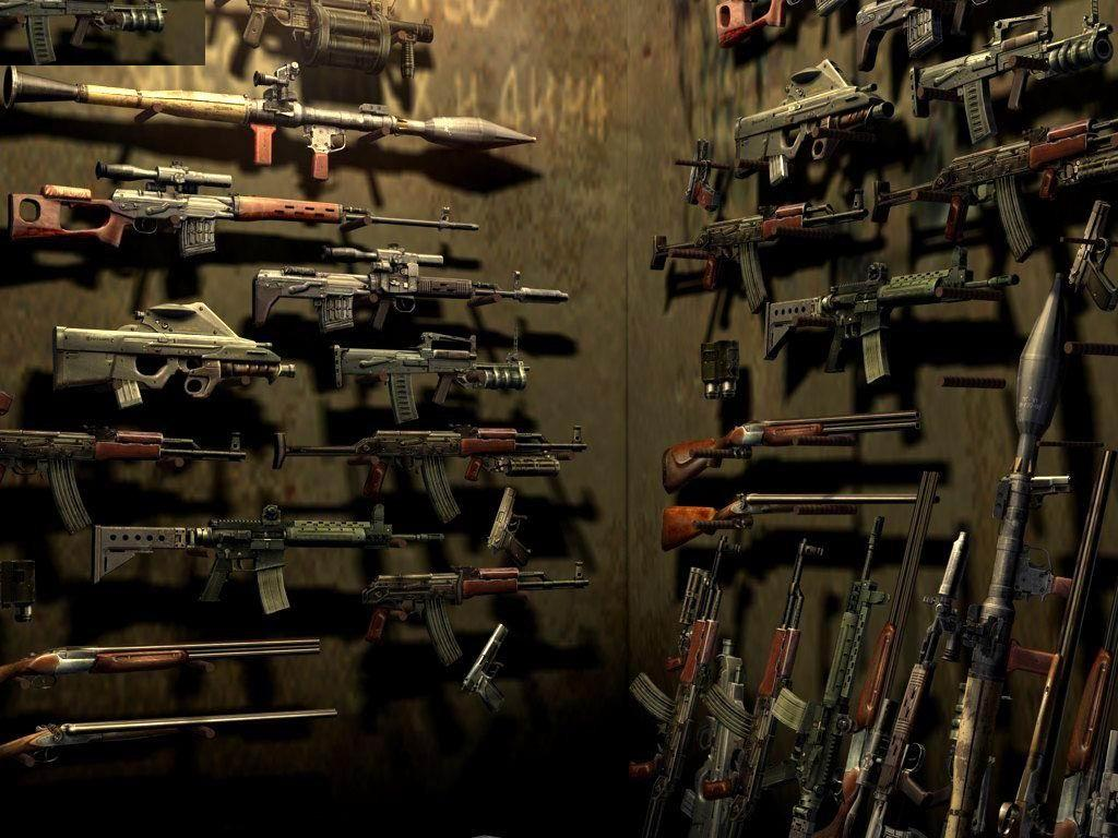 gun wallpaper for walls - photo #29