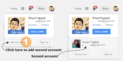 Google Account Multiple Login