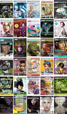 35 Edisi majalah PSD PHOTOSHOP