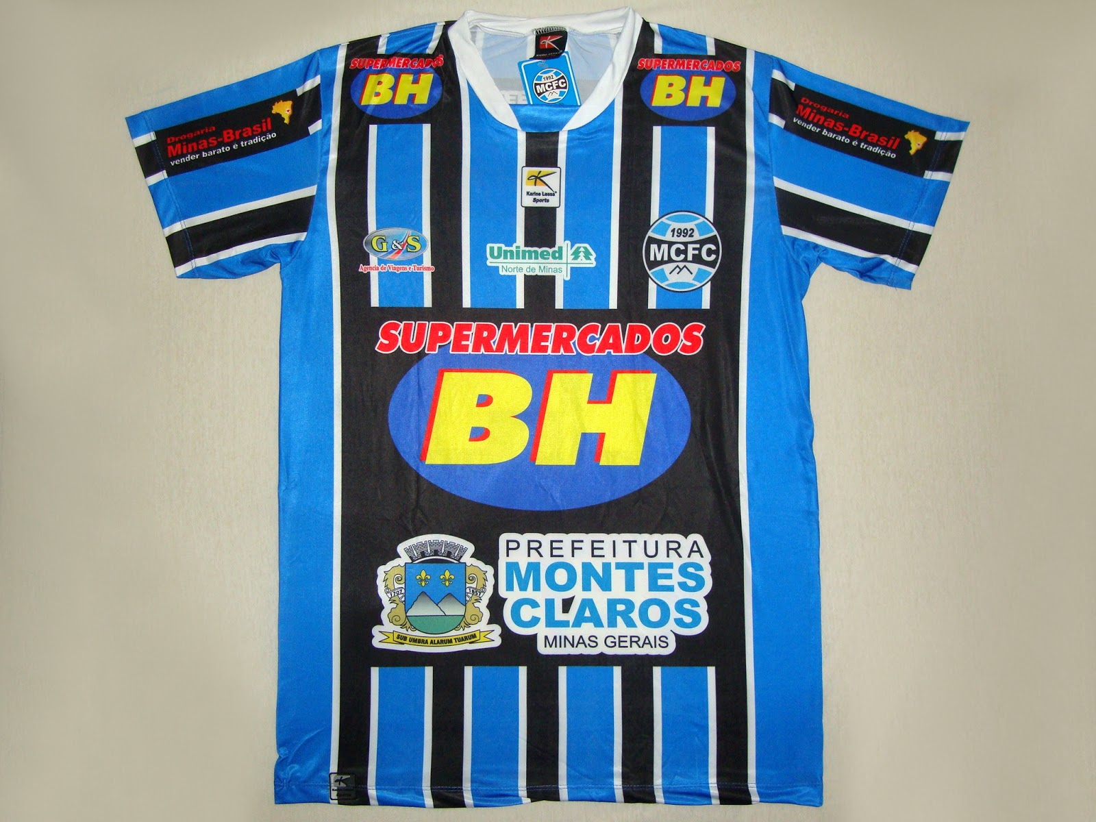 Montes Claros Futebol Clube (MG) - Show de Camisas 1e53b01763342