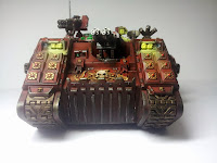 LAND RAIDER BLOOD ANGELS - WARHAMMER 40000 1