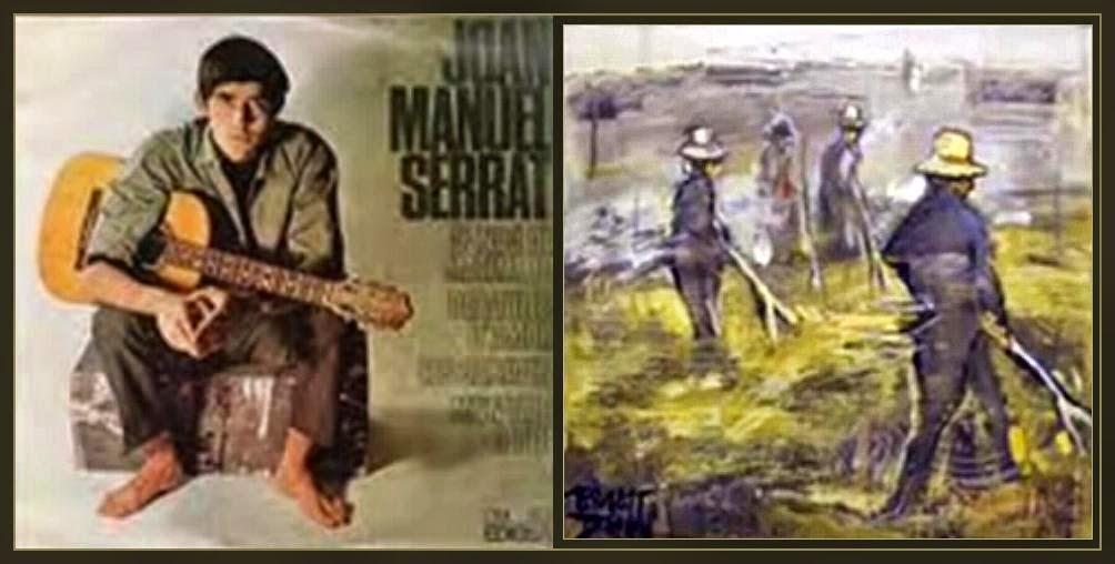 JOAN MANUEL SERRAT-ERNEST DESCALS-CANÇONS-PINTURA-VIDEO