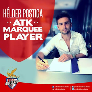 Helder Postiga signed by Atletico de Kolkata