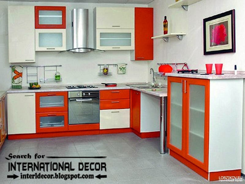 How to make beautiful kitchen renovation, modern red and white kitchen