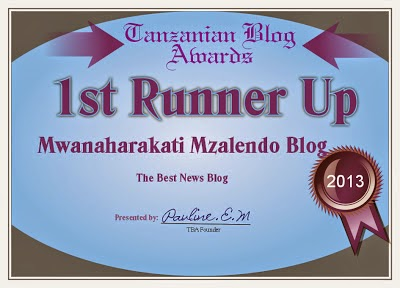 TANZANIA BLOG AWARDS 2013