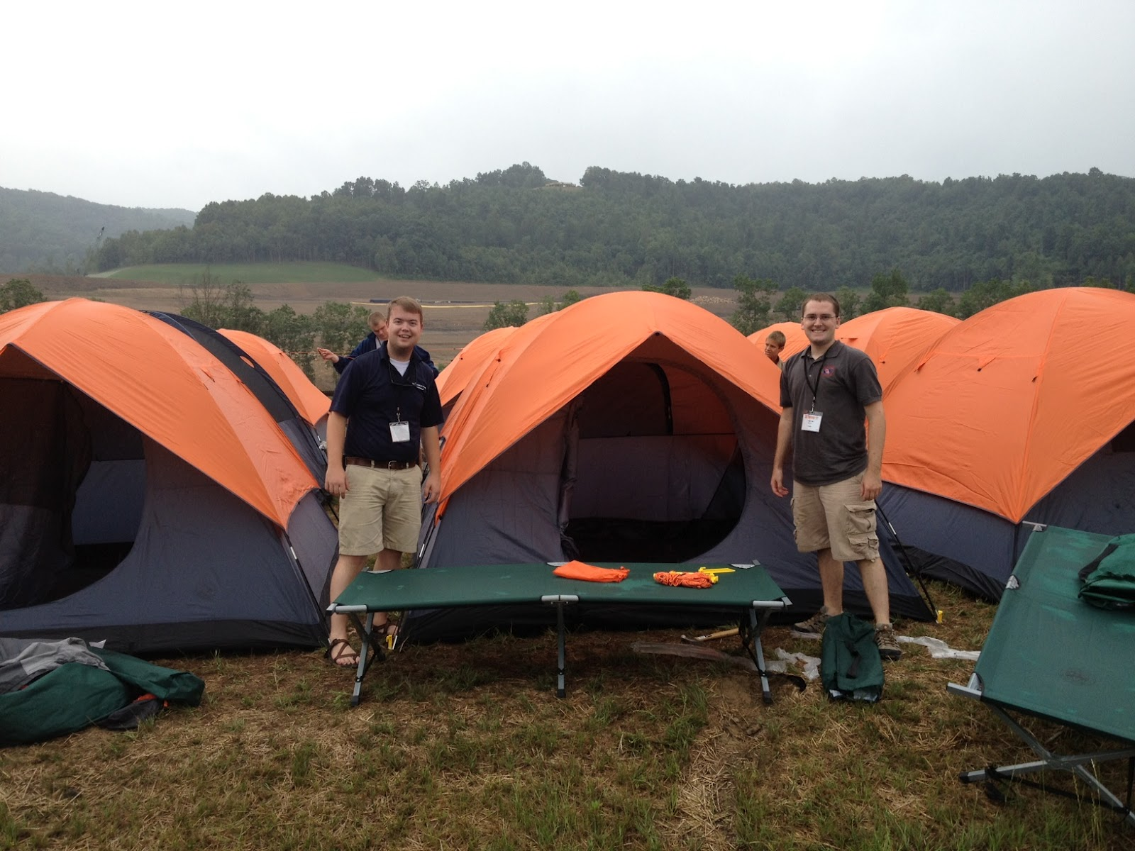 Good to see some old McKee c&ers (Alex u0026 Aaron) still at it at the Summit Bechtel Reserve this weekend for the 2013 National Jamboree Shakedown. & Scouting In The Hills: July 2012