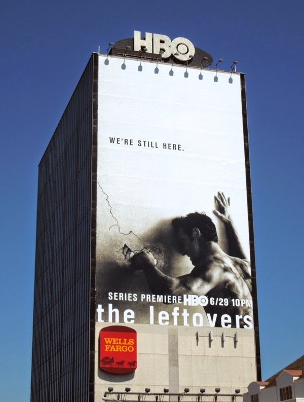 The Leftovers We're still here series premiere billboard