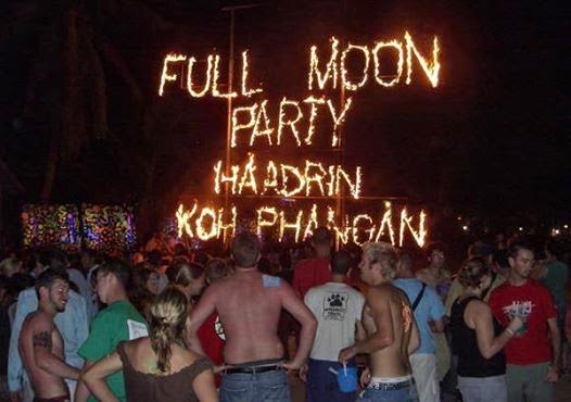 Full Moon Party: Thailand