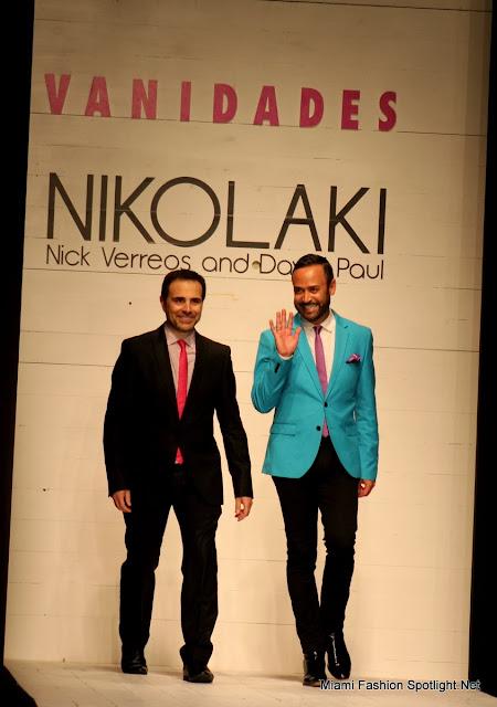 David Paul & Nick Verreos at Funkshion Fashion Week Miami Beach