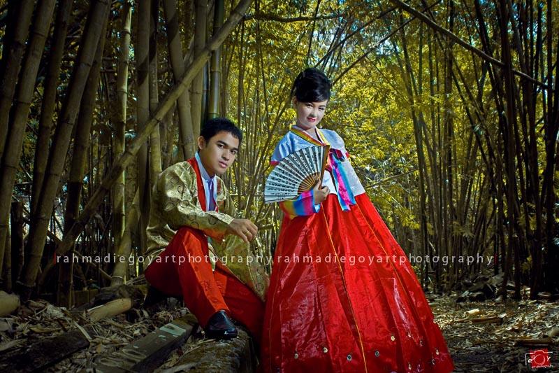 prewedding konsep korea