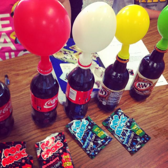 teaching science with lynda science with pop rocks and soda
