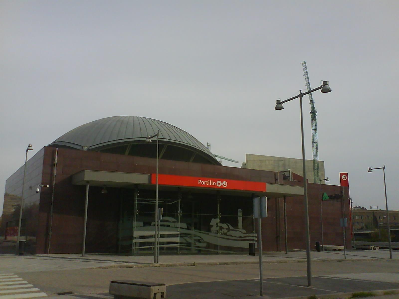 nueva estación de cercanías el Portillo Zaragoza