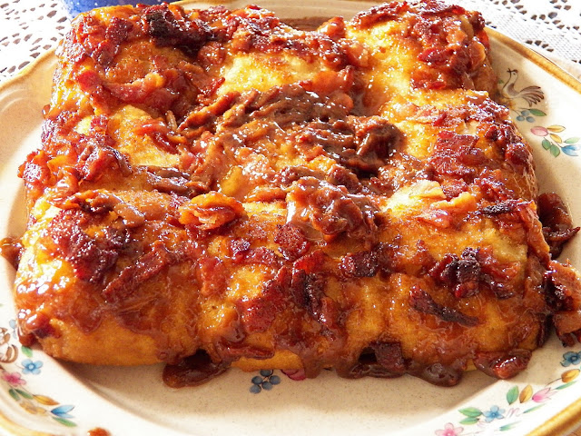 Maple Bacon Biscuit Bake by Comfy Cuisine