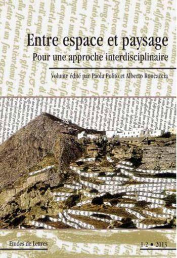Scaloblog entre espace et paysage for Paysage espace