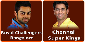 RCB Vs CSK is on 18 May 2013.