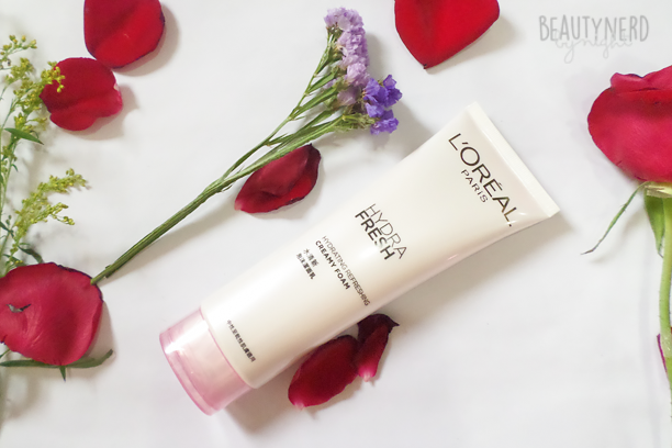 L'Oreal HYDRAFRESH Cream Cleanser | Beauty Nerd By Night