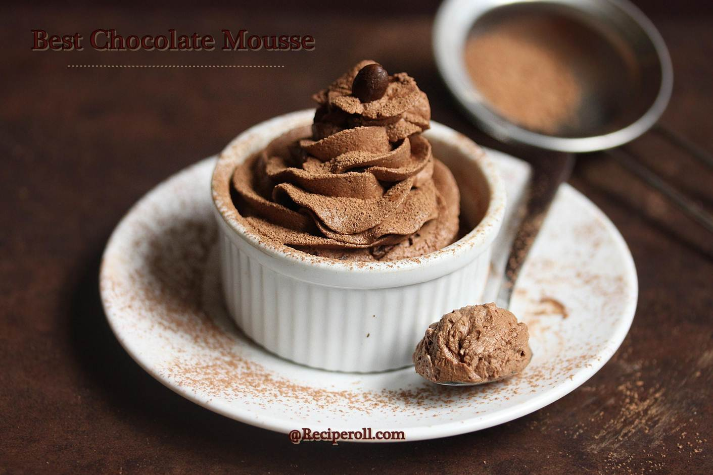 Chocolate Mousse Recipe — Dishmaps
