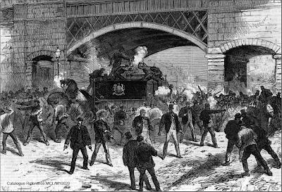Fenians attack police van (1867)