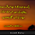 Jo Apnay Ghafil Bandoo Ko Preshaniyon Ki Russioun Me - Deep islamic Images