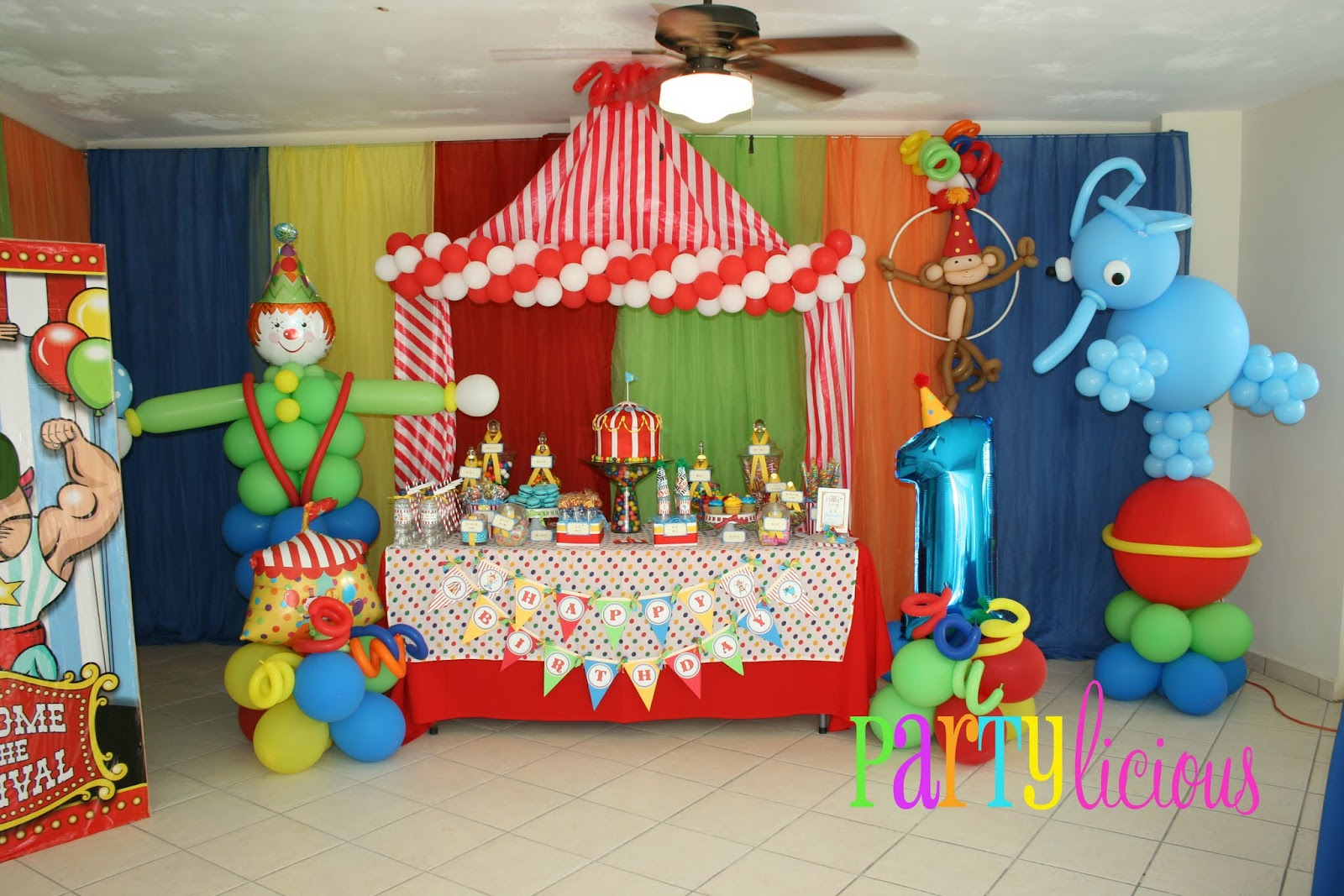 Perfect Circus Balloon Ideas for Birthday Party 1600 x 1067 · 319 kB · jpeg
