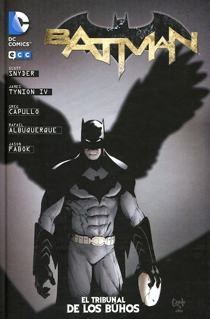 Batman comic el tribunal de los buhos