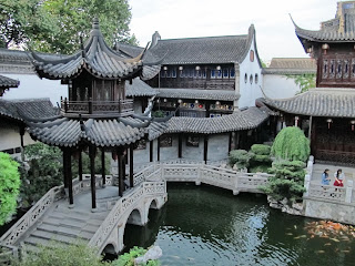 The garden at the Former Residence of Hu Xueyan, Hangzhou