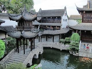 The garden at the Former Residence of Hu Xueyan, Hangzhou