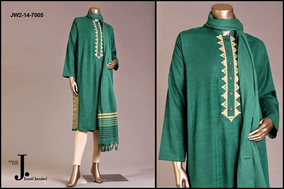Pret Wear Dresses 2014-2015 by Junaid Jamshad