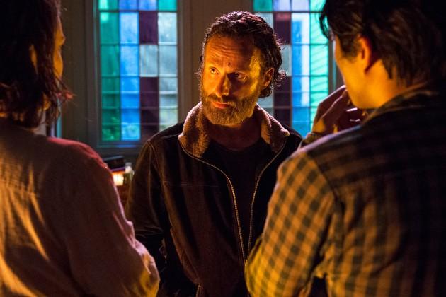 Scene from The Walking Dead Season Five Episode Three