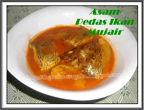 Olahan Ikan Mujair, Resep masakan Ikan Asam Pedas