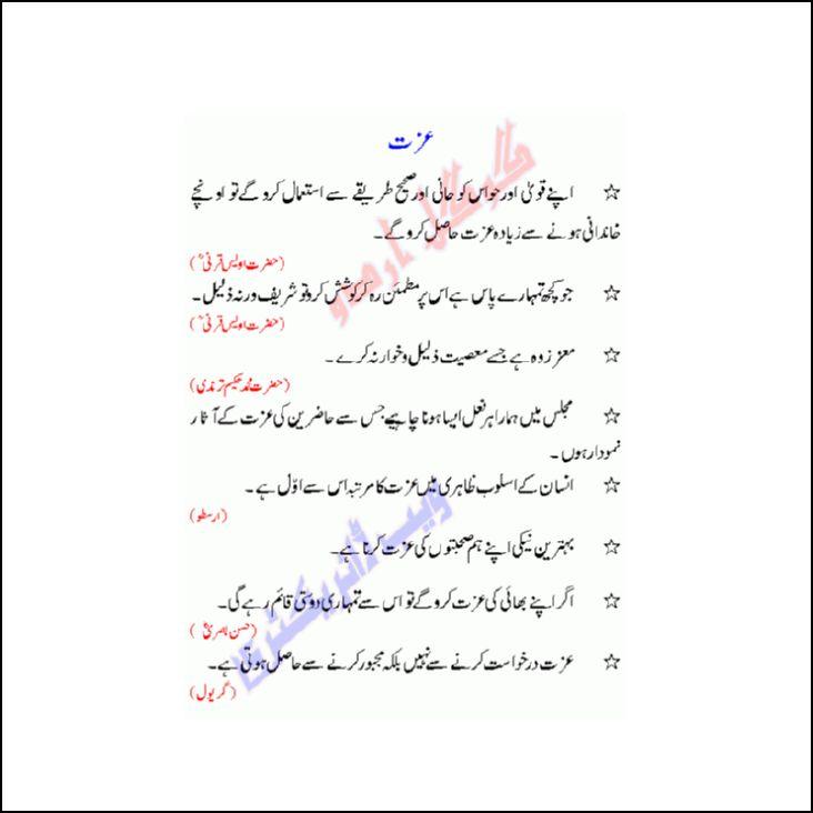 Islamic quotes aqwal e zareen islamic