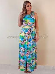modelo de vestido colorido longo - dicas e fotos