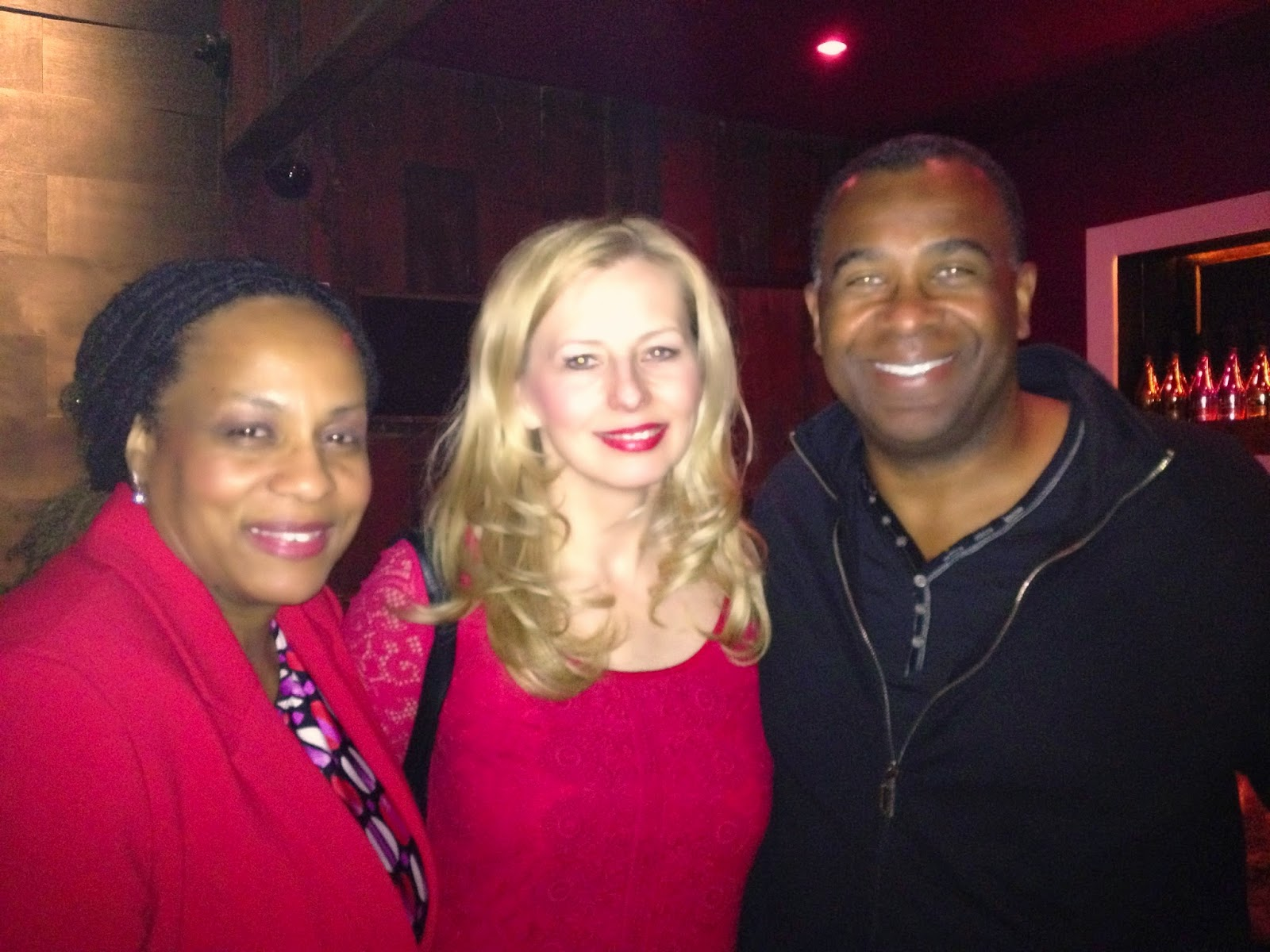 "Janice Temple, Anaya and Dwayne Johnson-Cochran, Film director of ""Be Known"""