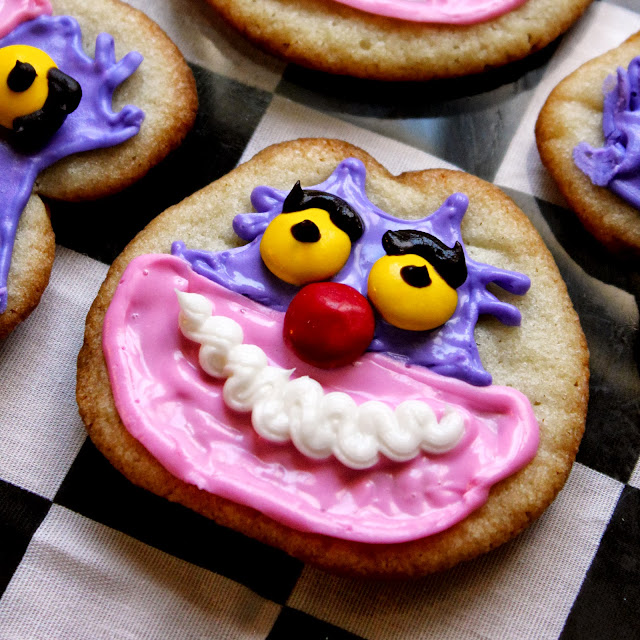 Cheshire Cat Cookies