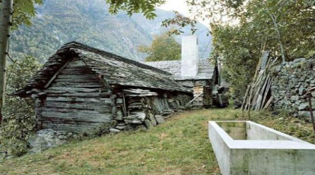 Gubuk Mewah Di Lereng Pegunungan Alpen