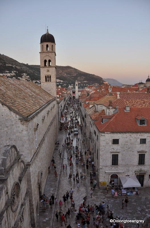 The Stradun, Dubrovnik Old Town