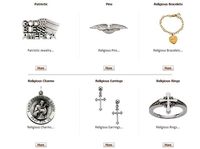 Christian Jewelry at Brownleejewelers.com