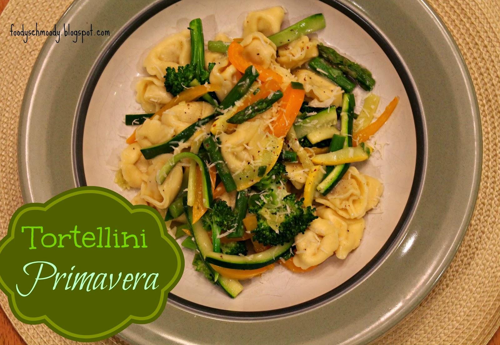 Tortellini Primavera by Foody Schmoody