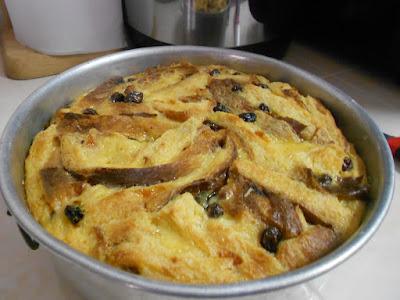 Puding Roti Kastad Simple