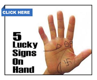 5 LUCKY SIGNS ON HAND