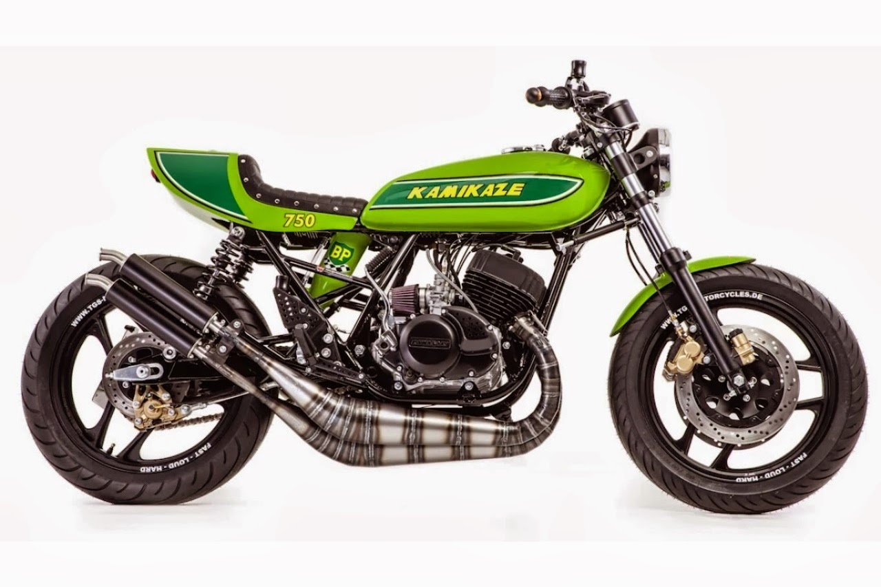 Racing Cafè: Kawasaki Mach 750 by TGS Motorcycles