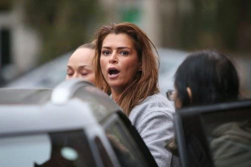 Sabia Boulahrouz accosted at Paparazzi