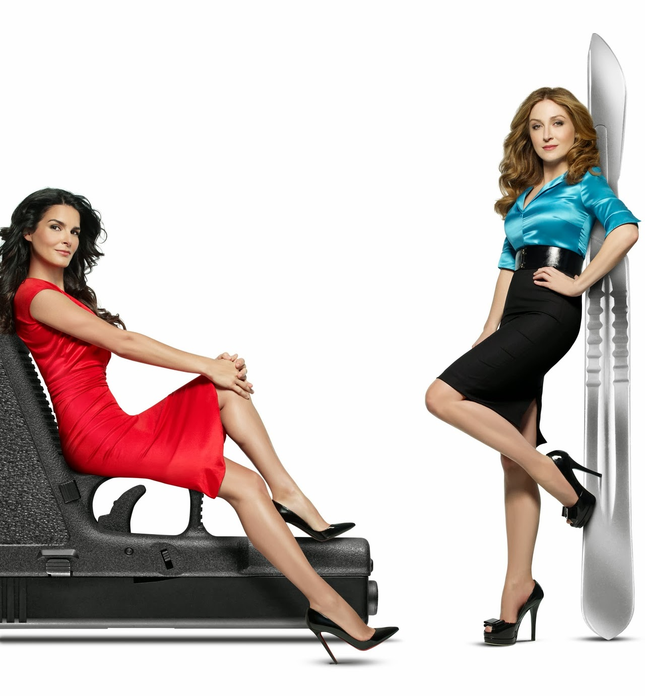 Hot angie harmon and sasha alexander