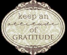 Attitude of Gratitude Clip Art – Clipart Download