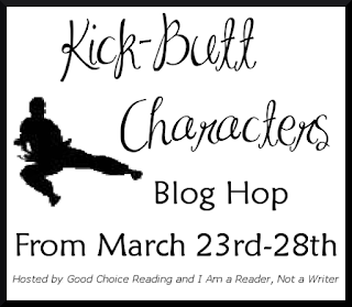 Giveaway: Kick-Butt Characters Blog Hop
